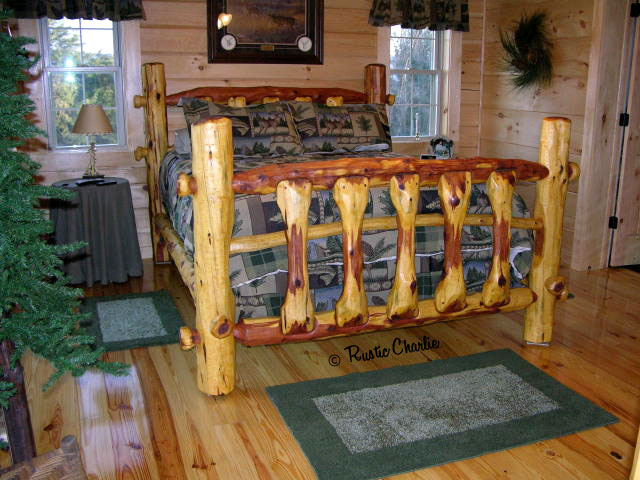 One Of A Kind Handmade Rustic Cedar Furniture Lodge Cabin Log Ski