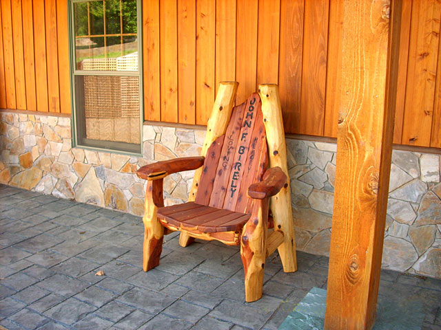 Rustic Cedar Throne Chairs, Lodge, Ski Resort, Taxidermi, cowboy, western, log cabin furniture, rustic outdoor furniture